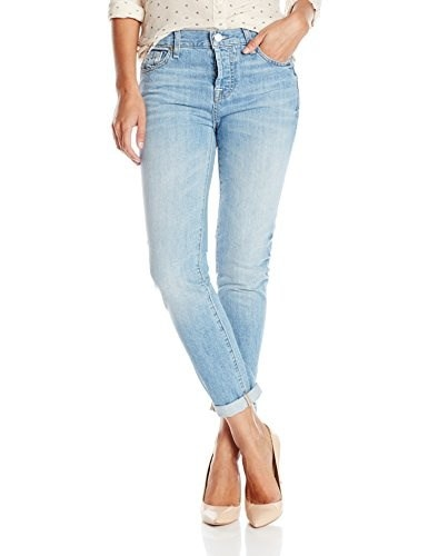 7 For All Mankind Womens Josefina Boyfriend Jean In Heritage Light, Heritage Light, 30