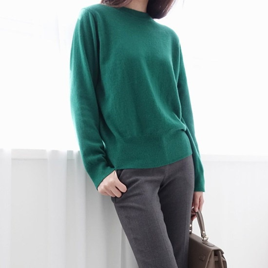 ミシャプキャッシュリングニットプルオーバー2 color ニット/セーター/ニット/韓国ファッション