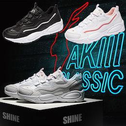 ◆送料無料◆ AkiiiClassic SHINE Series スニーカー/スリップオン/スポーツ/シューズ/パンプス/k-pop Star 韓国ファッション 靴