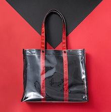 [送料無料] TVXQ 東方神起 PVC DECO BAG ECO BAG エコバック [15th Anniversary Official]