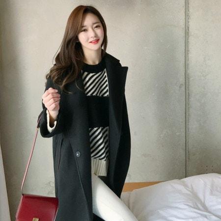 隠された魅力小売ひらきコートkorean fashion style