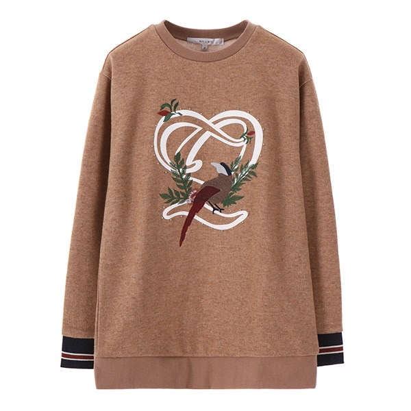 [韓国直送] 【オンエンオン] embroidery Point Sweatshirt NW7WE430