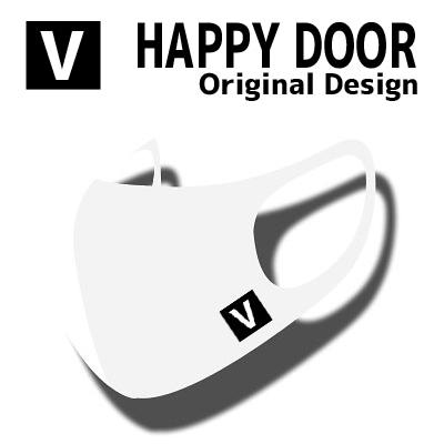 V [HAPPYDOOR オリジナル] JIMIN MASK マスク[ STRETCH ANTIBACTERIAL 3D MASK ] 洗濯可能 HYOSUNG [カラーマスク]