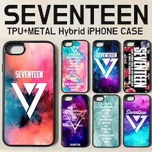 [国内発送][送料無料] SEVENTEEN セブンティーン iPhone ケイス 財布 グッズ カバー  7 / 8 / X / Plus / XS