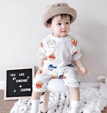 8988900dba12b9 子供服 上下2点セット Tシャツとショートパンツのなりきりセット 子供服