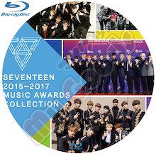 【SEVENTEEN】セブンティーン★Blu-ray★2015-2017 Music Awards Collection/MAMA/GDA/KBS/MBC/GAON K-POP DVD / 韓流DVD