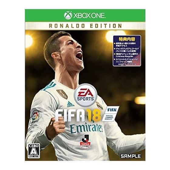 FIFA18 RONALDO EDITION [Xbox One] 製品画像