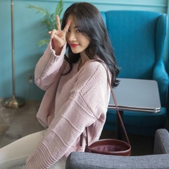 ホワイト・フォックスブイネクパクシフィットニット ニット/セーター/ニット/韓国ファッション