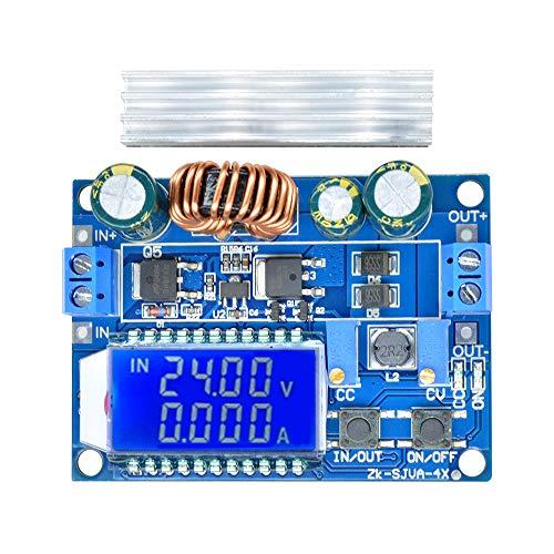 昇降圧コンバータ DiyStudio 自動昇降圧ボード DC 5.5-30V 12V to DC 0.5-30V 5v 24v 調整可能な定電流電圧 ステップアップ電圧レギュレータ 4A 35W
