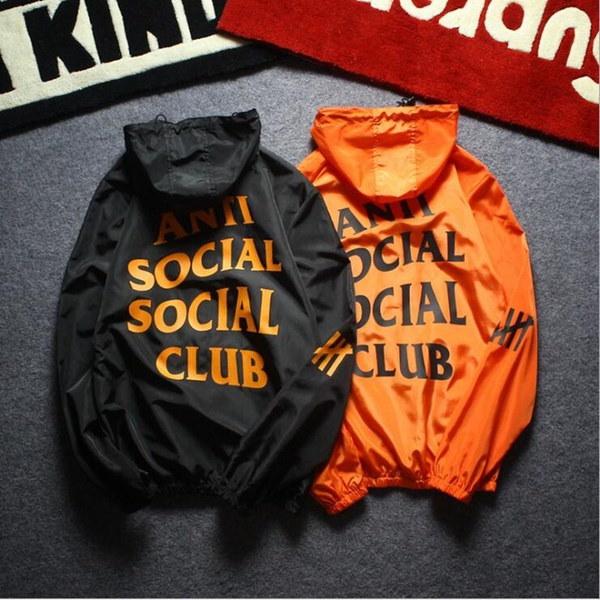 メンズ/レディースファッションジャケットロングスリーブフード付きコートプリントヒップホップウインドブレーカージッパーサンスクリーンスウェーア