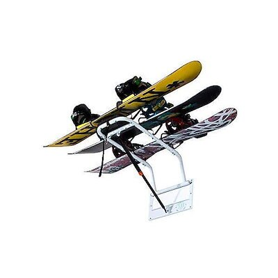 Nidecker Tram Wheeled Snowboard Bag Black 166cm Wheelie Wheels