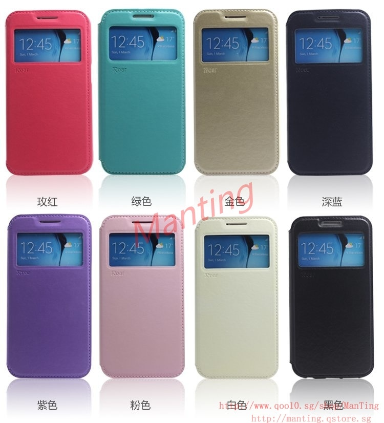 Luxury Windows bracket Leather Case for ASUS ZenFone Selfie ZD551KL、ZenFone 2 Laser ZE550KL/ZE500KL