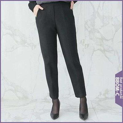 [デッドと][ハーフクラブ/デッド・ラとママの服デッドと8D-PT148セミウルの交ぜ織り・パンツ /パンツ/面パンツ/韓国ファッション