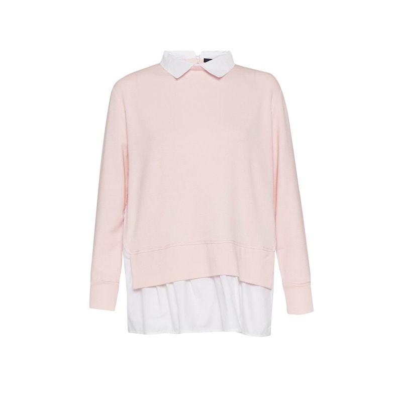 フレンチコネクション レディース トップス【Fresh Jersey Pleated Back Jumper】pink
