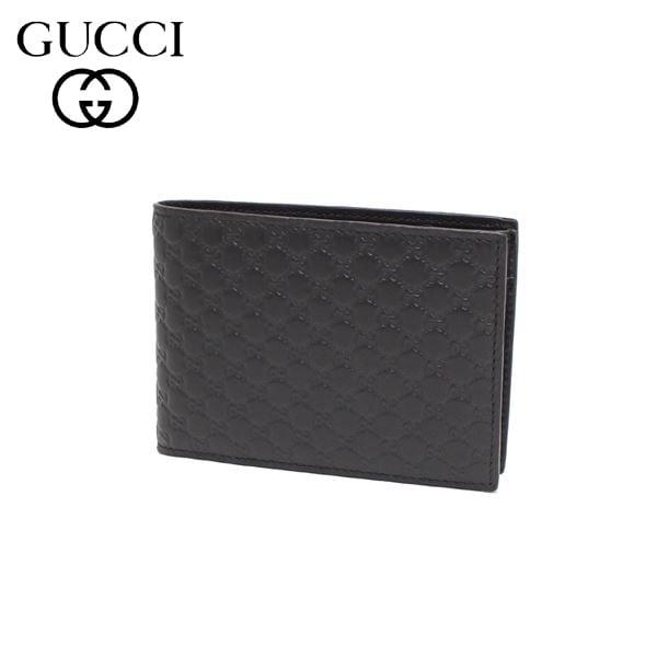 グッチ 二つ折り財布 メンズ GUCCI Wallet ダークブラウン 292534 BMJ1N 2044