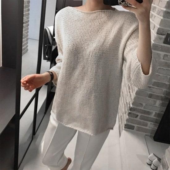 ラベルルームラベルルーム、ファーマーズ・ニット ニット/セーター/ニット/韓国ファッション