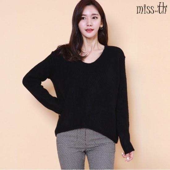 ミスティーに一ゴルジブイネクセーター ニット/セーター/ニット/韓国ファッション
