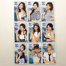 TWICE x POCARI SWEAT 30th Anniversary Official Move Live Sweat Photocard Full Set