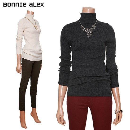 ボニーのアレックス・ソフトゴルジベーシックポルラティーBDWY580C ニット/セーター/タートルネック/ポーラーニット/韓国ファッション