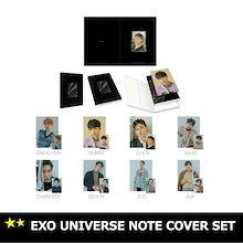 ☆送料無料☆ EXO UNIVERSE NOTE COVER SET 「SUM」