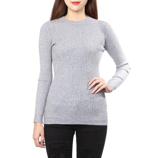 ジジピエクスシンプルなスリムフィットゴルジニットGHDAKP910F ニット/セーター/韓国ファッション