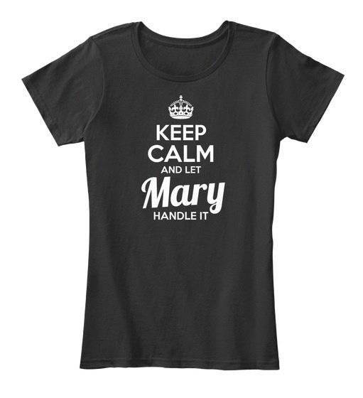 メアリー - 落ち着きを保ち、女性のプレミアムティーを手放す