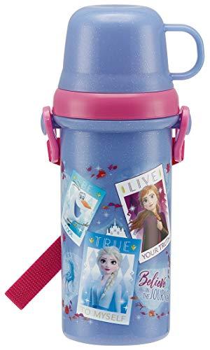 スケーター 子供用 水筒 コップ付き 480ml アナと雪の女王 2 PSB5KD
