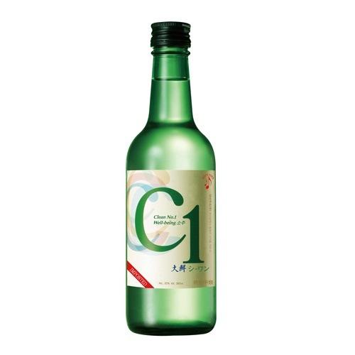 『大鮮酒造』シーワン焼酎|C1(360ml・アルコール19%) お酒 韓国焼酎 韓国お酒 韓国食品