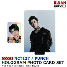 【日本国内発送】 NCT127 [HOLOGRAM PHOTO CARD SET / PUNCH NCT #127 Neo Zone - Final Round] 1次予約 送料無料