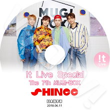 【KPOP DVD】♡♥SHINee It Live MUGI-BOX (2018.06.11) ♡♥【日本語字幕あり】♡♥ SHINee シャイニー ♡♥【SHINee DVD】