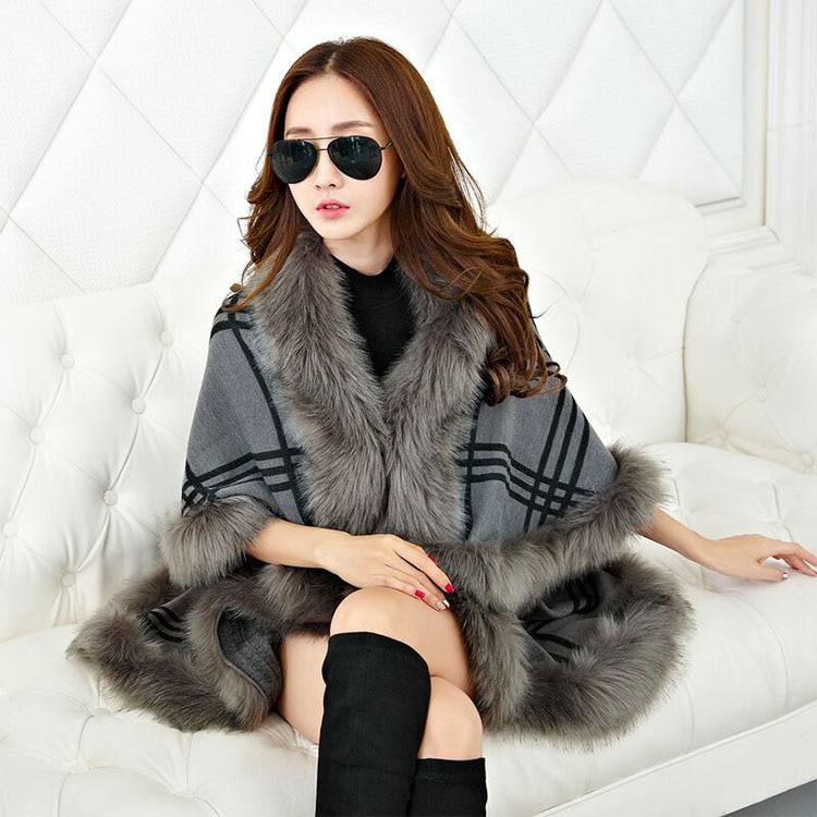 【送料無料 韓国ファッション】 レディースストール 厚手ストール カシミヤタッチストール マフラーストール ショール チェック柄大判ストール?袖を持って/ボヘミア/本当に暖かい