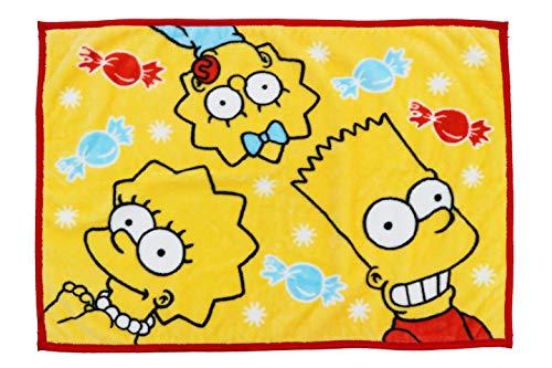 丸眞 ひざ掛け The Simpsons ザ・シンプソンズ 70100cm ウォームスイート 4935000900