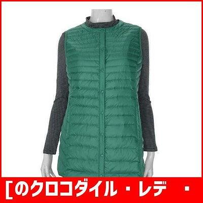 [のクロコダイル・レディー]軽量ダウンベストCL8WVT902 / パディング/ダウンジャンパー/ 韓国ファッション