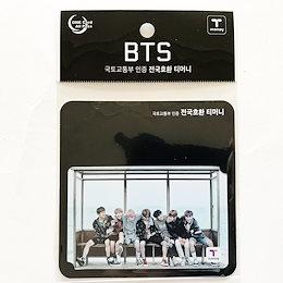 BTS Bangtan Boys (防彈少年團) 방탄소년단 x CU Limited T-Money Card