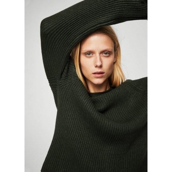 マンゴーMANGOネックディテールセーター ニット/セーター/ニット/韓国ファッション