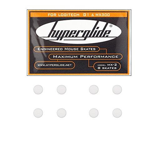 Hyperglide マウスソール Logicool G1 / MX300用 2set (MX-2)