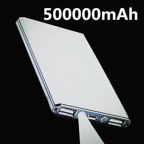 電子デジタル製品用500000mAhパワーバンクポータブル充電器