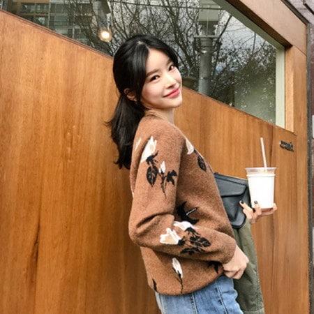 [Imvely] azalea woolen knit Korean fashion style