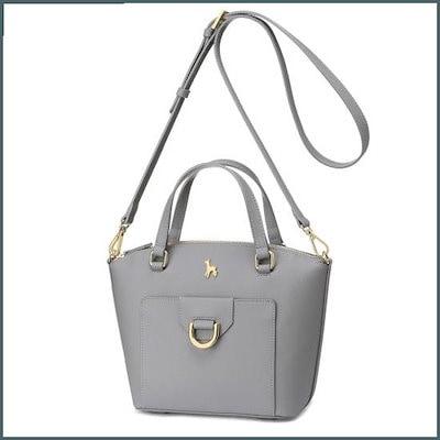 [ブラック・マーティンシッボン(かばん)]Labele Tote Bag(GAYX15136) /トートバッグ / 韓国ファッション / Tote bags