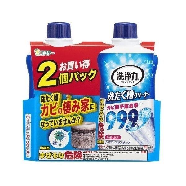 洗浄力 洗たく槽クリーナー 550g×2個