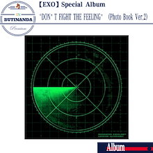【EXO 当店特典】 EXO スペシャルアルバム DONT FIGHT THE FEELING PhotoBook Ver.2 韓国音楽チャート反映 エクソアルバム