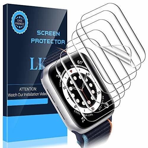 LKApple Watch Series 6 / SE 40mm用 「Model NO. BP196」 液晶保護フィルム ☆改善版☆アップルウォッチ Series 6 / SE 40mm 全面保護フィル
