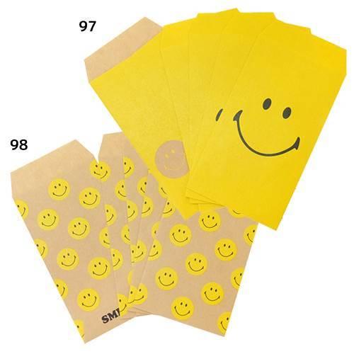 ぽち袋 SMILEY ポチ袋 アクティブコーポレーション 13×6.5cm お年玉袋 キャラクターグッズ通販 【メール便可】シネマコレクション■