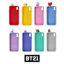 【BT21】BT21フィギュアシリコンケース/BT21 figure silicon case/8種・iPhone・LINE FRIENDS正規品