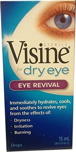 Visine for Dry Eyesアイリバイバルドロップ15 ml