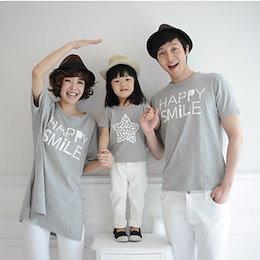 12b851e097bd2 可愛い 人気親子コーデ ディズニー 家族ペア 親子ペアルック 半袖Tシャツ 男女兼用 女の子