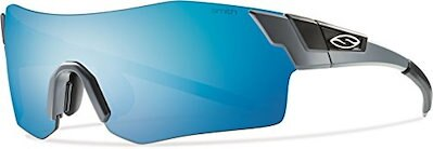 Smith Optics Pivlock Arena Sunglasses (Matte Cement, Blue Sol-X/Ignitor/Clear)