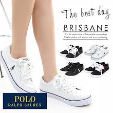 ✨レビュー大好評!✨POLO RALPH LAUREN  BRISBANE/ポロ・ラルフローレン カジュアル スニーカー ポロ ラルフローレン 靴
