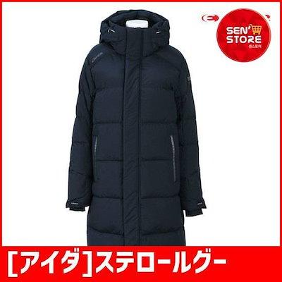 [アイダ]ステロールグース-S(共用)ロングダウンDMW18539N4のネイビー / パディング/ダウンジャンパー/ 韓国ファッション