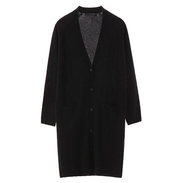 [韓国直送] 【オリーブデオリーブ] basic long cardigan OK7WD863